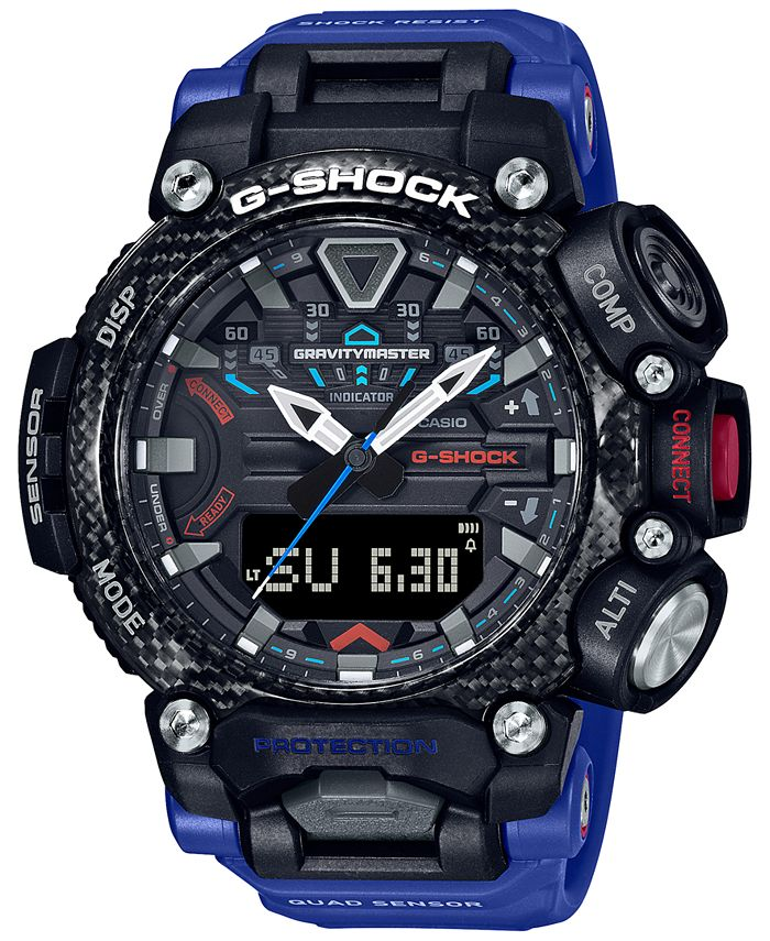G-Shock - Men's Analog Digital Gravitymaster Connected Blue Resin Strap Watch 63mm