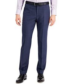 Men's Modern Fit Navy Blue Suit Pants