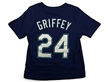 Seattle Mariners Ken Griffey Jr. Little Boys Name and Number Player T-Shirt