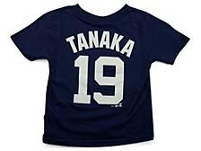 New York Yankees Masahiro Tanaka Toddler Name and Number Player T-Shirt