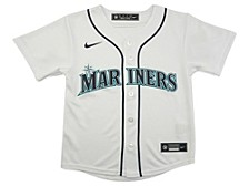 Youth Seattle Mariners Official Blank Jersey