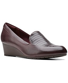 Women's Mallory Pearl Wedge Pumps