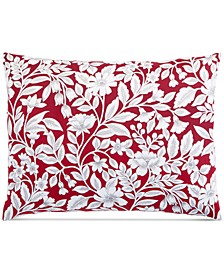 Garden Manor Cotton 300-Thread Count Standard Sham, Created for Macy's