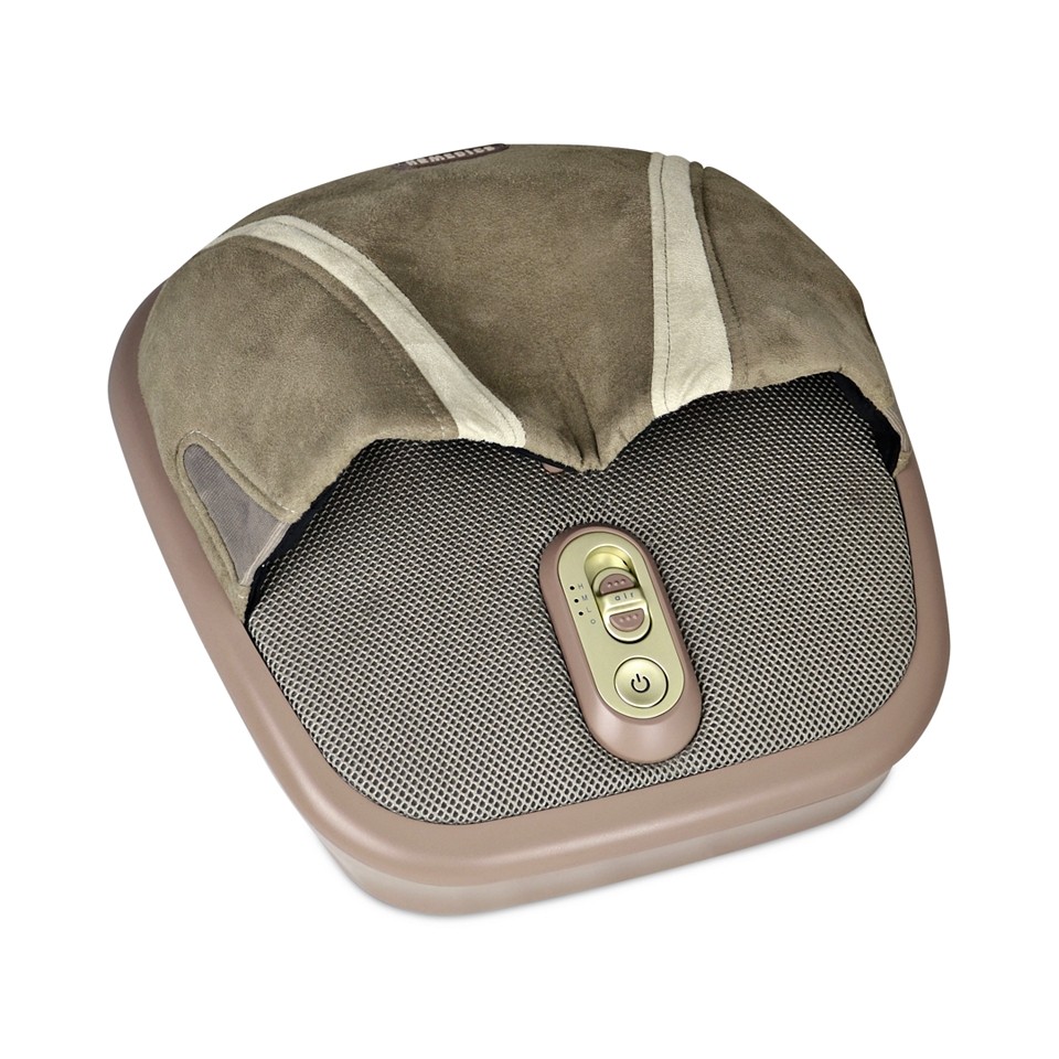 Homedics FMS 275H Air Compression & Shiatsu Foot Massager with Heat