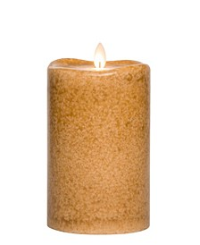 Mottled Candle Wax Pillar