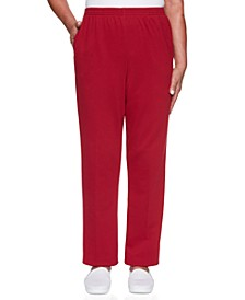 Petite Classic French Terry Proportioned Medium Pants