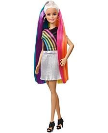 Rainbow Sparkle Hair Doll