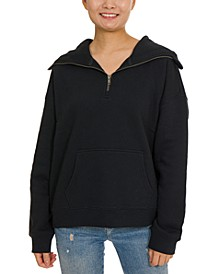 Juniors' Mask Hoodie Sweatshirt