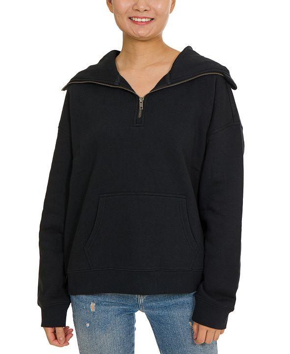 Hippie Rose Juniors' Mask Hoodie Sweatshirt