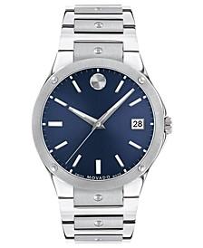 Men's Swiss Sports Edition Stainless Steel Bracelet Watch 41mm