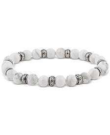 Men's Marble Gemstone Bracelet