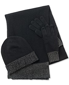 Cashmere Hat, Scarf & Gloves 3pc Set, Created for Macy's