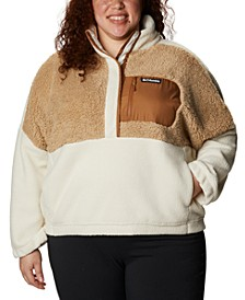 Plus Size Lodge Sherpa Sweater