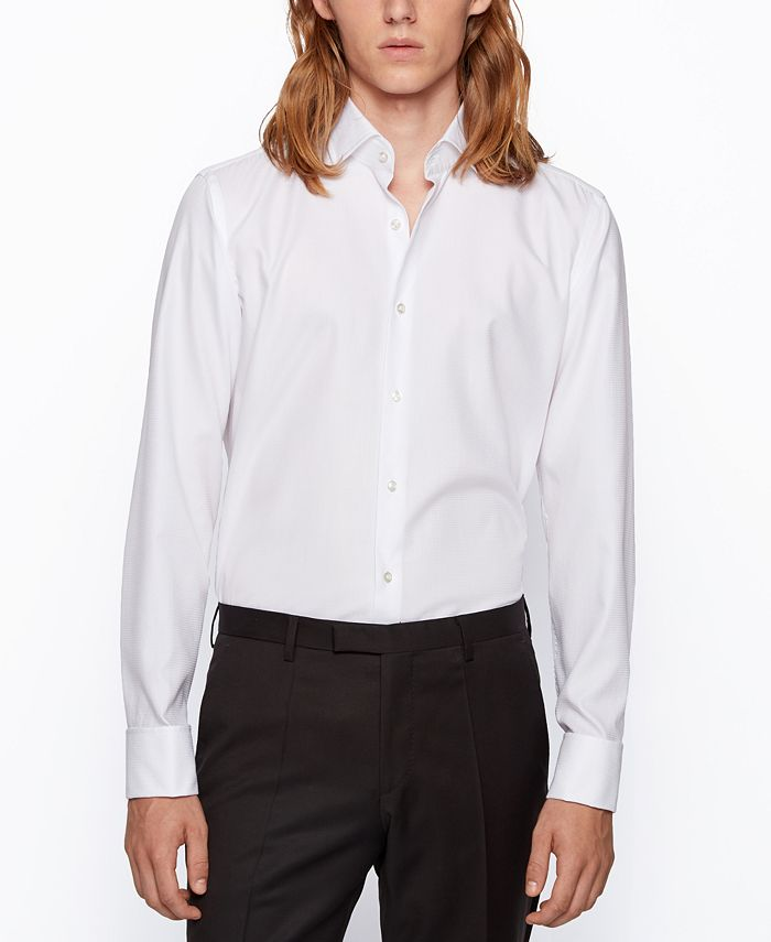 Hugo Boss - Men's Gardner Regular-Fit Shirt