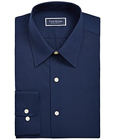 Men's Classic/Regular-Fit Solid Dress Shirt, Created for Macy's