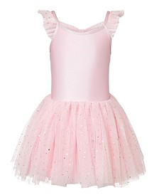 Little and Big Girls Melania Sequin Tutu Dress
