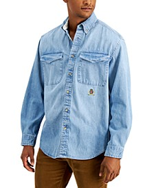 Men's Iconic Re-Issue Elmira Regular-Fit Denim Shirt