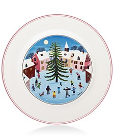 Design Naif Christmas Salad Plate