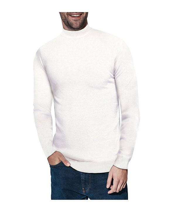 X-Ray  Men's Mock Neck Sweater