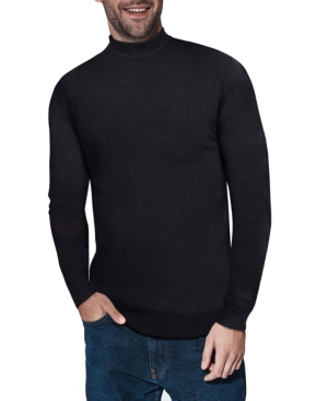 Men's Vintage Sweaters History X-Ray Mens Mock Neck Sweater $58.00 AT vintagedancer.com