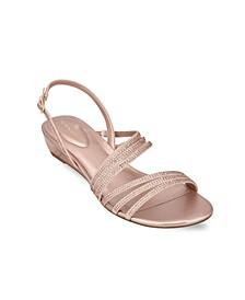 Tillya Women's Strappy Embellished Sandals