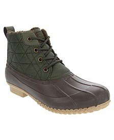 Women's Winley Quilted Duck Ankle Boot