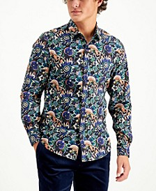 Men's Limited Edition Spread Collar Slim Fit Shirt