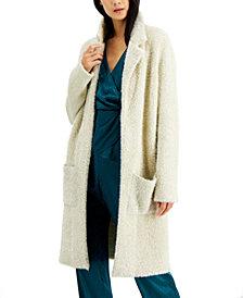 Alfani Metallic Eyelash-Knit Cardigan, Created for Macy's