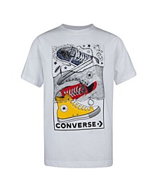 Big Boys Chuck Sneaker Logo T-shirt
