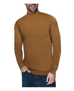 Mens Vintage Shirts – Casual, Dress, T-shirts, Polos X-Ray Mens Mock Neck Sweater $58.00 AT vintagedancer.com