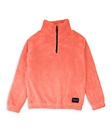 Big Girls Quarter Zip Popover Jacket