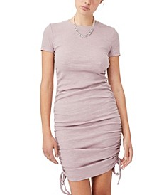 Women's Ryder Short Sleeve Rouched Mini Dress