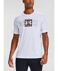 Under Armour Men's Box Logo Wordmark T-Shirt