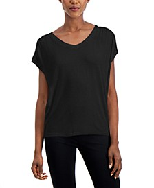 Women's Embellished Shoulder Tee