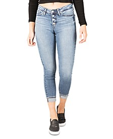 Most Wanted Mid-Rise Skinny Jeans