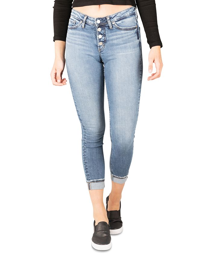 Silver Jeans Co. - Most Wanted Mid-Rise Skinny Jeans