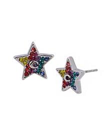 Star Swarovski® Crystals Stud Earrings