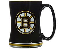 Boston Bruins 14 oz Relief Mug