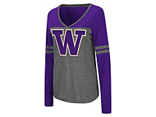 Women's Washington Huskies Surely Long Sleeve T-Shirt