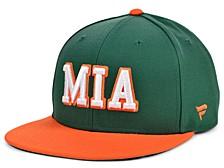 Authentic Headwear Miami Hurricanes Hometown Snapback Cap