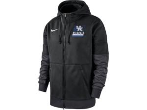 Nike Kentucky Wildcats Men's Therma Full Zip Hooded Sweatshirt Jacket