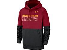 USC Trojans Men's Therma Colorblock Hooded Sweatshirt