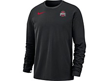 Ohio State Buckeyes Men's Dry Coaches Crew Top