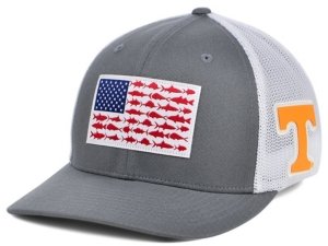Tennessee Volunteers Pfg Fish Flag Stretch-fitted Cap