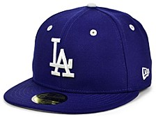 Los Angeles Dodgers 100th Patch 59FIFTY Cap