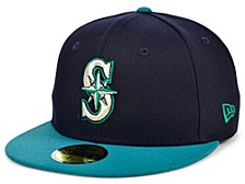 Seattle Mariners 100th Patch 59FIFTY Cap