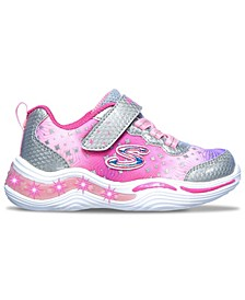 Toddler Girl's S Lights Power Petals - Painted Daisy Stay-Put Closure Light-Up Training Sneakers from Finish Line