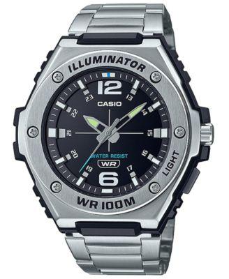Men's Stainless Steel Bracelet Watch 50.6mm