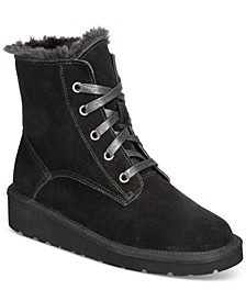 Abbbaa Lace-Up Boots, Created for Macy's