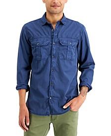 INC Men's Denim Shirt, Created for Macy's